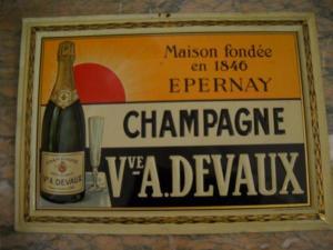 Champagne immagine storica A. Devaux