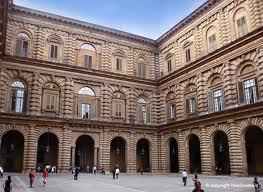 Cortile dell'Ammannati Palazzo Pitti