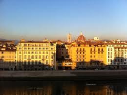 La vista dall'Hotel Lungarno