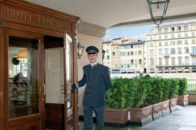 terrazza hotel Lungarno